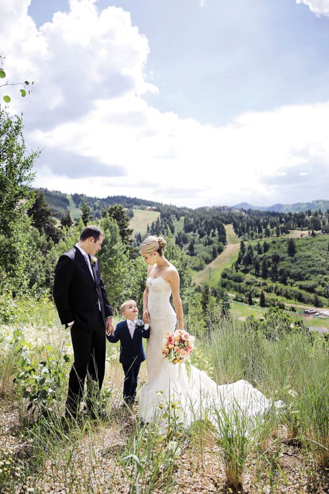Real Weddings: Glamour on the Mountain at The St  Regis