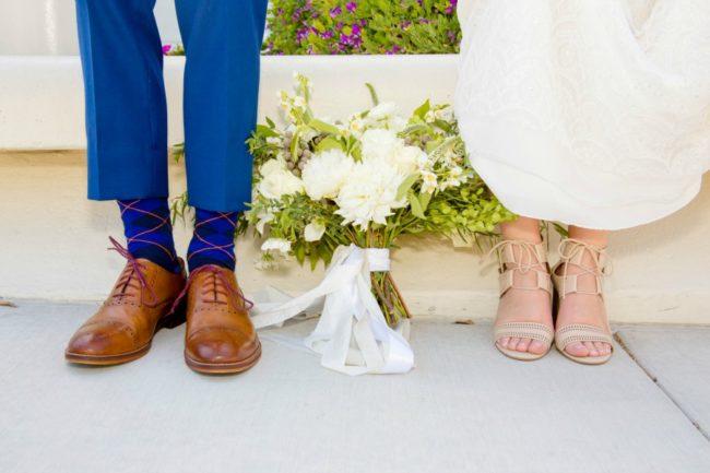 real wedding megan and jeffrey shoes