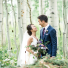 Juliana and Briggs aspen meadows wedding