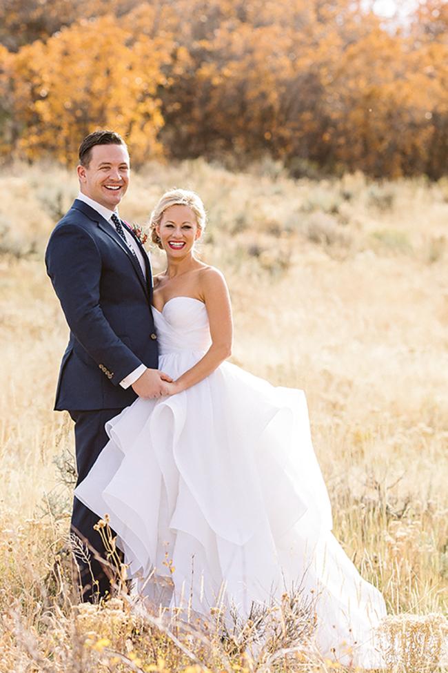 blue sky ranch wedding
