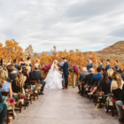 blue sky ranch wedding